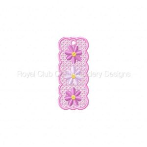 Royal Club Of Embroidery Designs - Machine Embroidery Patterns 2009 FSL Mothers Day Bookmarkers Set