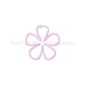 Royal Club Of Embroidery Designs - Machine Embroidery Patterns 3D Flowers Set