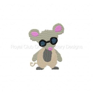 Royal Club Of Embroidery Designs - Machine Embroidery Patterns Three Blind Mice Set