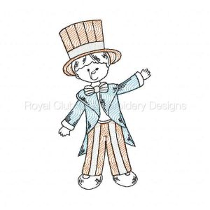 Royal Club Of Embroidery Designs - Machine Embroidery Patterns 4th of July Country Boys Set