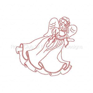 Royal Club Of Embroidery Designs - Machine Embroidery Patterns DD 5x7 RW Angelic Angels Set