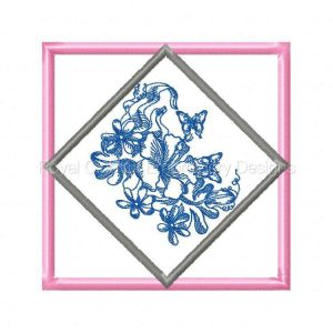 Royal Club Of Embroidery Designs - Machine Embroidery Patterns 6x9 Butterfly Quilt Blocks Set