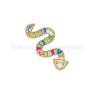 Royal Club Of Embroidery Designs - Machine Embroidery Patterns African Deco Set