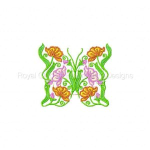 Royal Club Of Embroidery Designs - Machine Embroidery Patterns Butterfly Fantasy Set