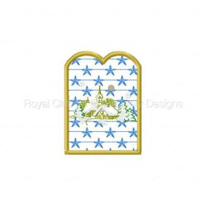 Royal Club Of Embroidery Designs - Machine Embroidery Patterns Candle Reflectors 2 Set