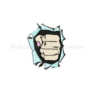 Royal Club Of Embroidery Designs - Machine Embroidery Patterns Hands Set