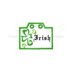 Royal Club Of Embroidery Designs - Machine Embroidery Patterns St. Patty Day Badges Set