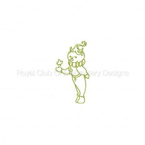 Royal Club Of Embroidery Designs - Machine Embroidery Patterns A Fall Time Day Set