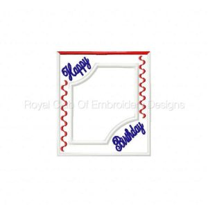 Royal Club Of Embroidery Designs - Machine Embroidery Patterns All Occasion Frames Set