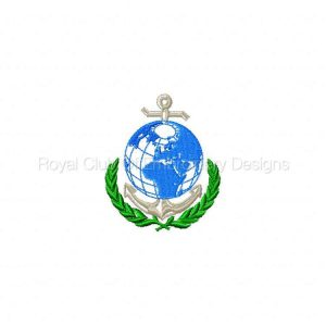 Royal Club Of Embroidery Designs - Machine Embroidery Patterns Anchors Away Set