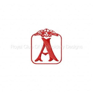 Royal Club Of Embroidery Designs - Machine Embroidery Patterns DD Angel 2 Alphabet Set