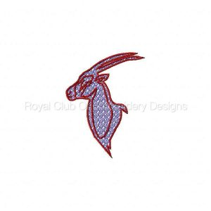 Royal Club Of Embroidery Designs - Machine Embroidery Patterns Animal Motifs Set