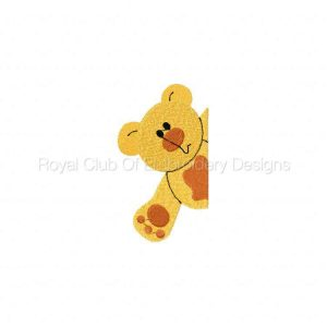 Royal Club Of Embroidery Designs - Machine Embroidery Patterns Animal Plackets Set