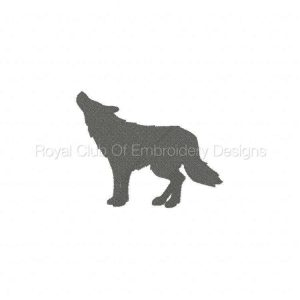 Royal Club Of Embroidery Designs - Machine Embroidery Patterns DD Animal Silhouttes Set