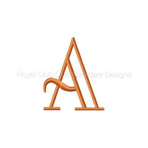 Royal Club Of Embroidery Designs - Machine Embroidery Patterns Applique ABC Set