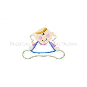Royal Club Of Embroidery Designs - Machine Embroidery Patterns Applique Babys First Halloween Set