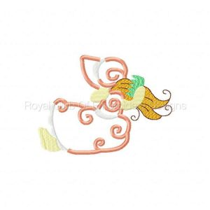 Royal Club Of Embroidery Designs - Machine Embroidery Patterns Applique Beauty Bonnets Set