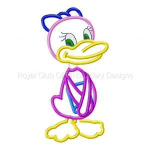 Royal Club Of Embroidery Designs - Machine Embroidery Patterns Applique Ducks Set