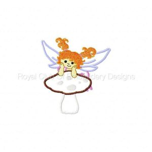 Royal Club Of Embroidery Designs - Machine Embroidery Patterns Applique Fairies 2 Set