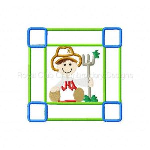 Royal Club Of Embroidery Designs - Machine Embroidery Patterns Applique Farm Blocks Set