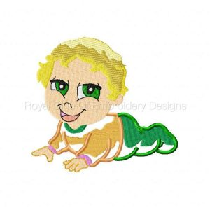 Royal Club Of Embroidery Designs - Machine Embroidery Patterns Applique Babies Set