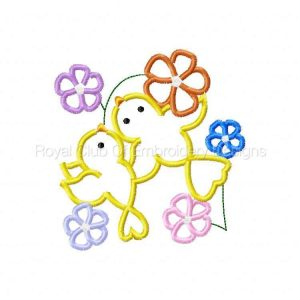 Royal Club Of Embroidery Designs - Machine Embroidery Patterns Applique Birds Set