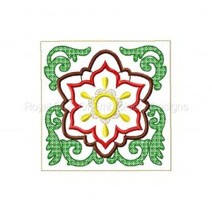 Royal Club Of Embroidery Designs - Machine Embroidery Patterns Applique Quilt Blocks Set