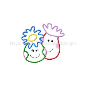 Royal Club Of Embroidery Designs - Machine Embroidery Patterns Applique Sea Creatures Set