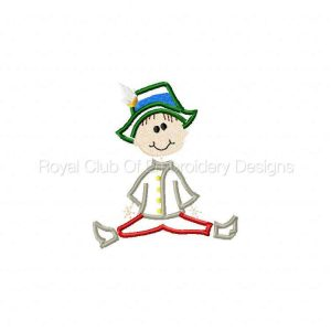 Royal Club Of Embroidery Designs - Machine Embroidery Patterns Applique Stick Kids Set