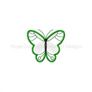Royal Club Of Embroidery Designs - Machine Embroidery Patterns Applique Spring Butterflies Set