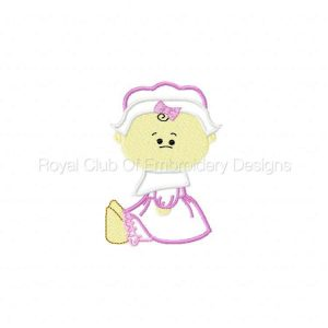 Royal Club Of Embroidery Designs - Machine Embroidery Patterns Applique Thanksgiving Babies Set