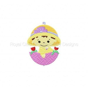 Royal Club Of Embroidery Designs - Machine Embroidery Patterns April Showers Set