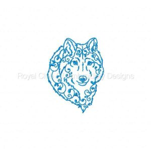 Royal Club Of Embroidery Designs - Machine Embroidery Patterns Arctic Animals Set