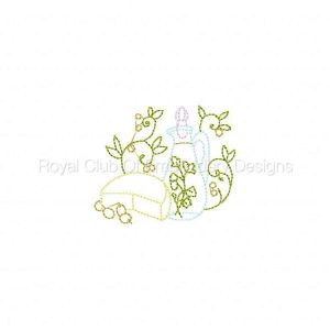 Royal Club Of Embroidery Designs - Machine Embroidery Patterns A Touch of Flavor Set