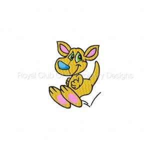 Royal Club Of Embroidery Designs - Machine Embroidery Patterns Australian Pals Set