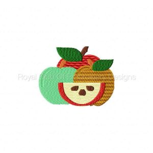 Royal Club Of Embroidery Designs - Machine Embroidery Patterns Autumn Apple Baking Set