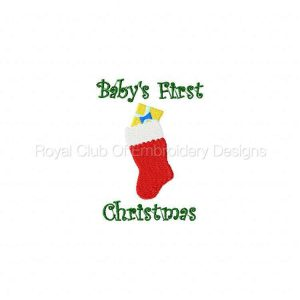 Royal Club Of Embroidery Designs - Machine Embroidery Patterns Babies First Set