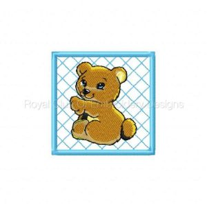 Royal Club Of Embroidery Designs - Machine Embroidery Patterns Baby Animal Blocks Set