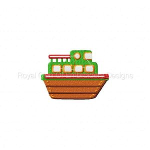 Royal Club Of Embroidery Designs - Machine Embroidery Patterns Baby Boats Set