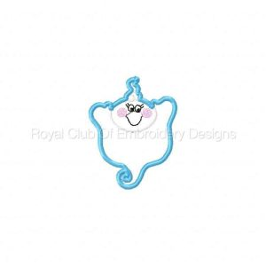 Royal Club Of Embroidery Designs - Machine Embroidery Patterns Baby Boo Set