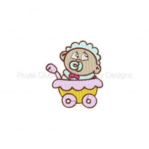 Royal Club Of Embroidery Designs - Machine Embroidery Patterns Baby Boys Set