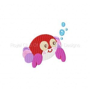 Royal Club Of Embroidery Designs - Machine Embroidery Patterns Baby Friends of the Sea Set