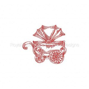 Royal Club Of Embroidery Designs - Machine Embroidery Patterns Baby Prams Set