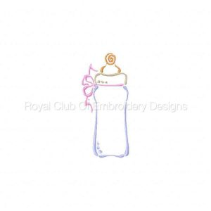 Royal Club Of Embroidery Designs - Machine Embroidery Patterns Baby Shower Designs Set