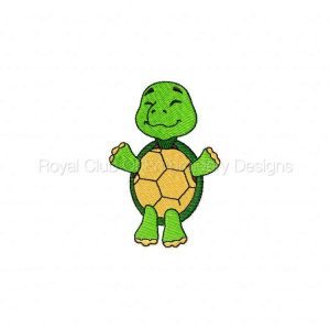 Royal Club Of Embroidery Designs - Machine Embroidery Patterns Baby Turtles Set