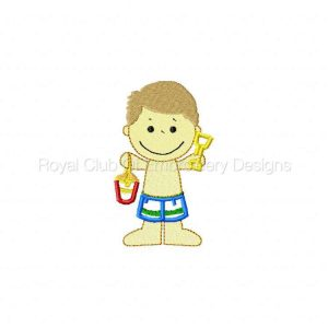 Royal Club Of Embroidery Designs - Machine Embroidery Patterns Beach Bums Set