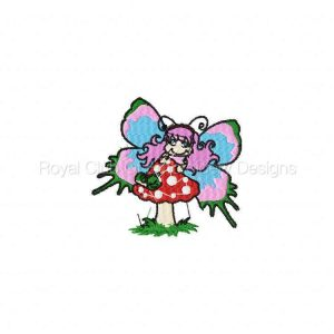 Royal Club Of Embroidery Designs - Machine Embroidery Patterns Beautiful Butterflies Set