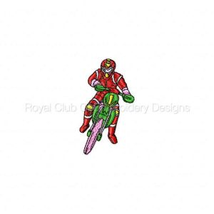Royal Club Of Embroidery Designs - Machine Embroidery Patterns Bike Week 2007 Set