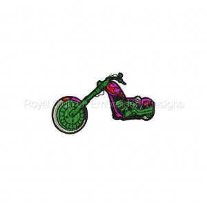 Royal Club Of Embroidery Designs - Machine Embroidery Patterns Bike Week 2010 Set