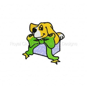 Royal Club Of Embroidery Designs - Machine Embroidery Patterns DD Birthday Beagles Set
